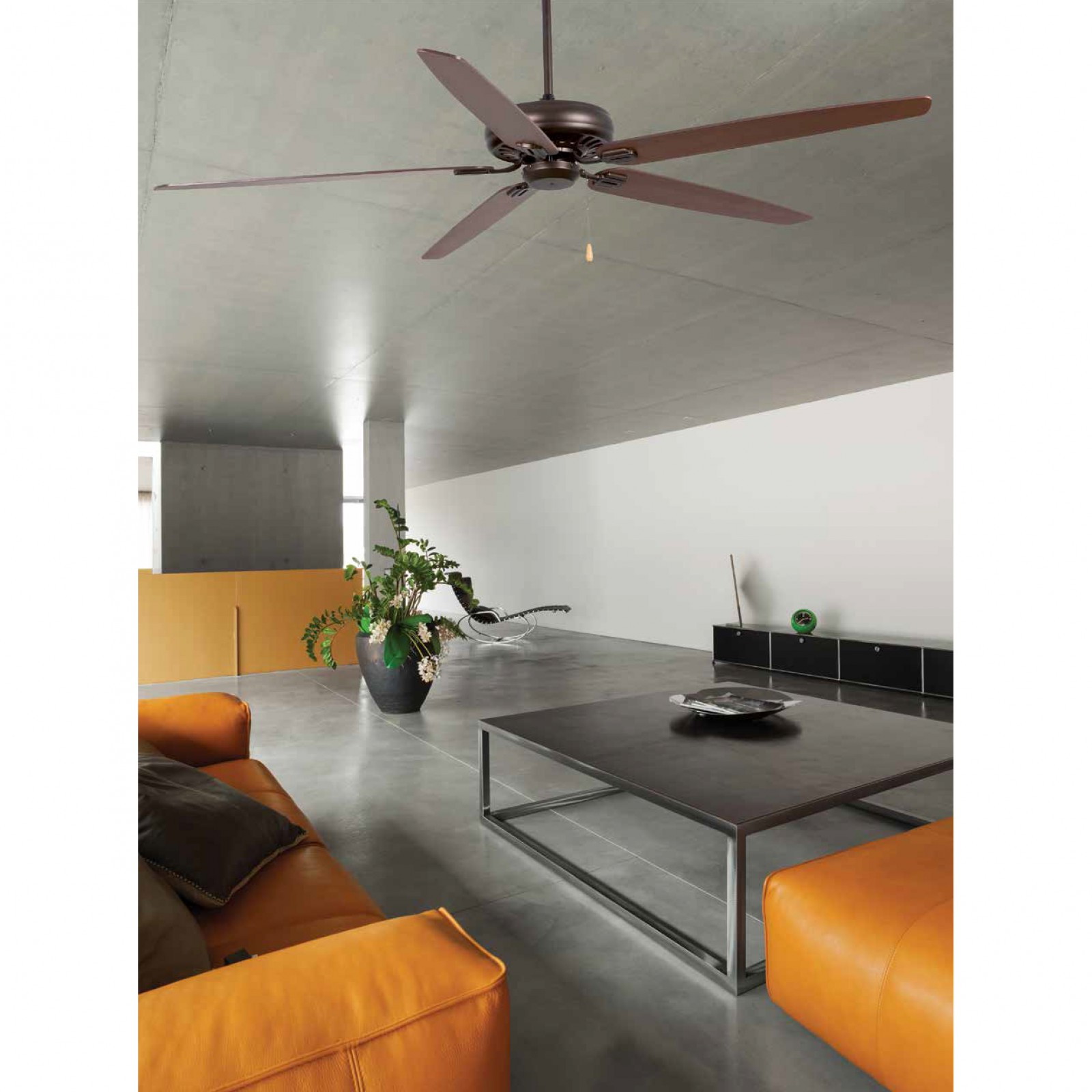 """Faro Ceiling Fan Nisos brown 178 cm 70"""" with pull cord Ceiling"""
