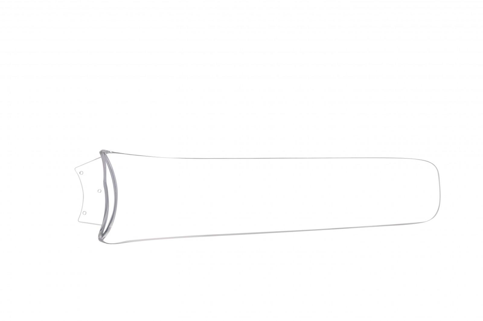deckenventilator fabiola mit led beleuchtung und fernbedienung fl gel transparent 137 cm von globo. Black Bedroom Furniture Sets. Home Design Ideas