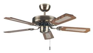 "Ceiling fan Paloma Slimline 103cm / 41"" with pull cord"