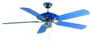 Ceiling fan Blue Angel with pull cord 132cm / 52""