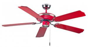 """Ceiling Fan Mona Rosso (BC 883) red 132 cm / 52"""""""
