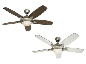 "Ceiling fan MERCURY 132cm / 52"" with light and remote"