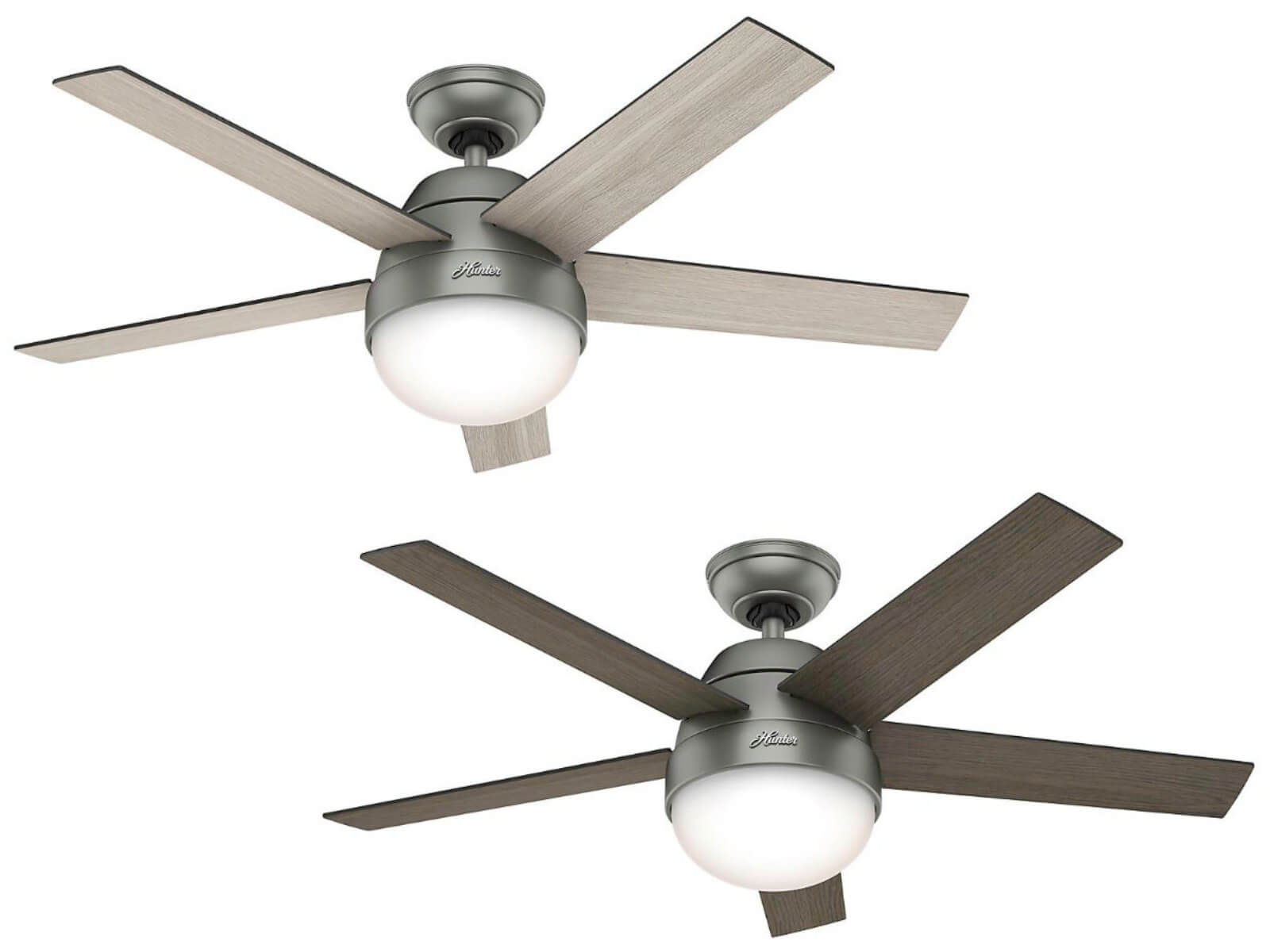 Ceiling Fan Stile Silver With Light And Remote Home Commercial Heaters Ventilation Ceiling Fans Uk