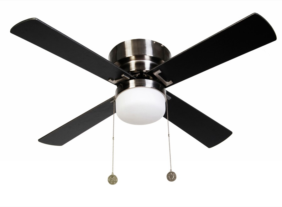 Ceiling Fan Nordic Chrome brushed 107 cm / 42