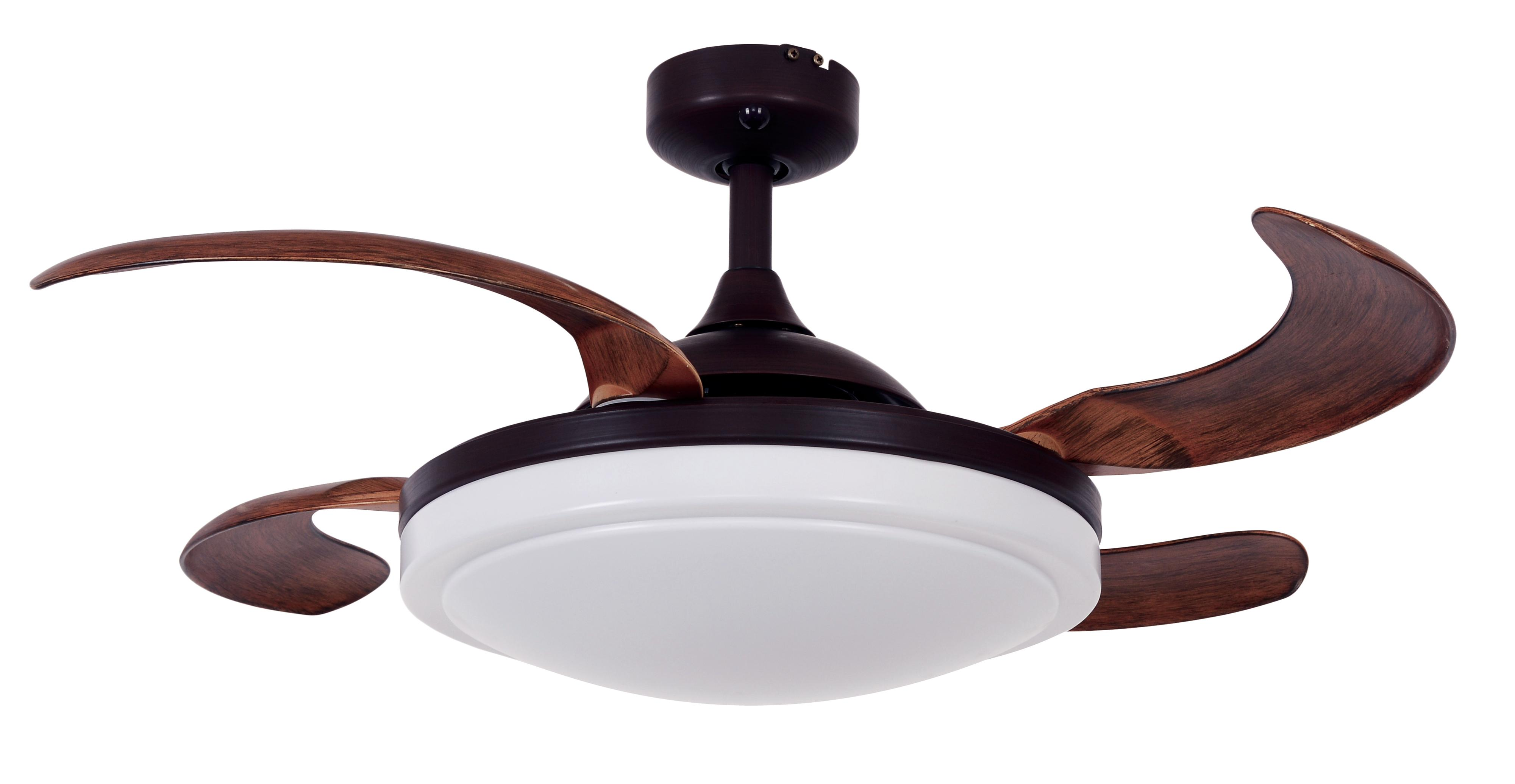 Ceiling Fan Fanaway Evora Bronze With Light And Remote