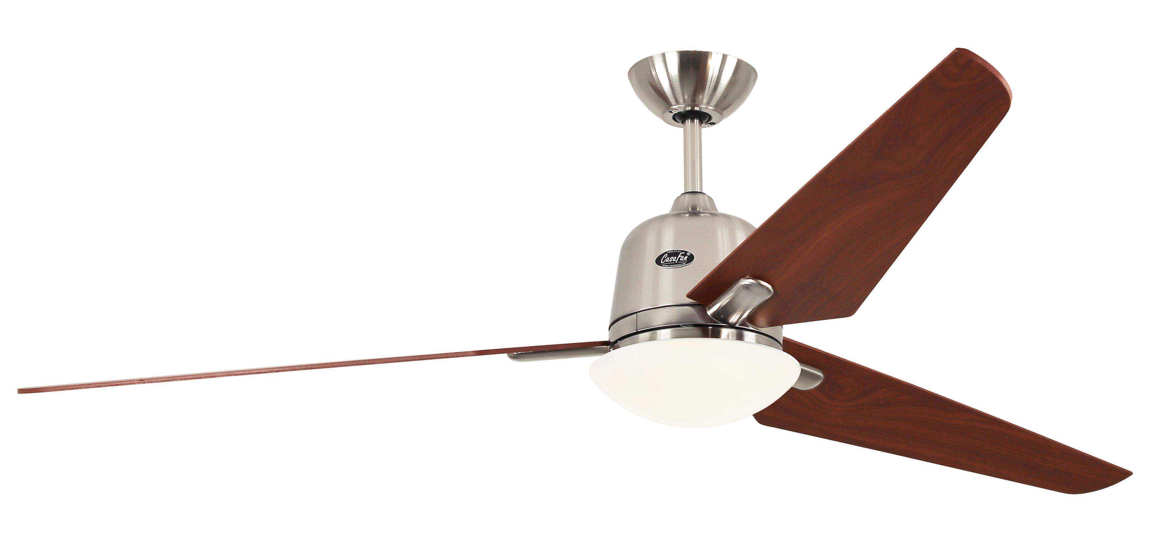 Ventilateur de plafond Eco Aviatos 162 Chrome Cerisier | Boutique en ligne Ceres