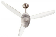 Design Deckenventilator - EOS 127 - transparent 001