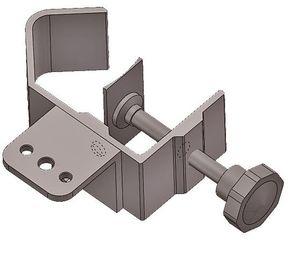 Rohr Universalklemme UK2 für IR Heizstrahler CasaTherm – Bild 1