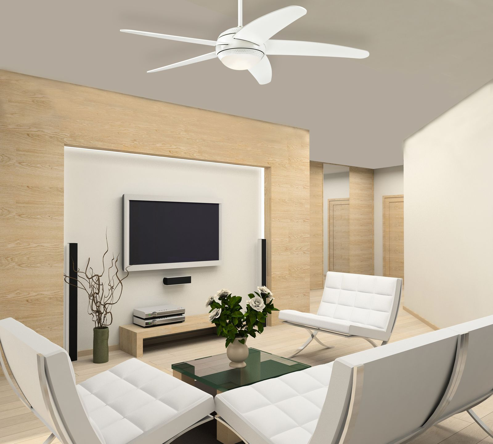 deckenventilator bendan wei inklusive led beleuchtung von westinghouse. Black Bedroom Furniture Sets. Home Design Ideas