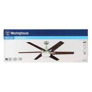 Westinghouse Deckenventilator Cayuga Nickel, Beleuchtung – Bild 5