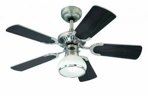 Ceiling fan Princess Radiance II Pewter with Light