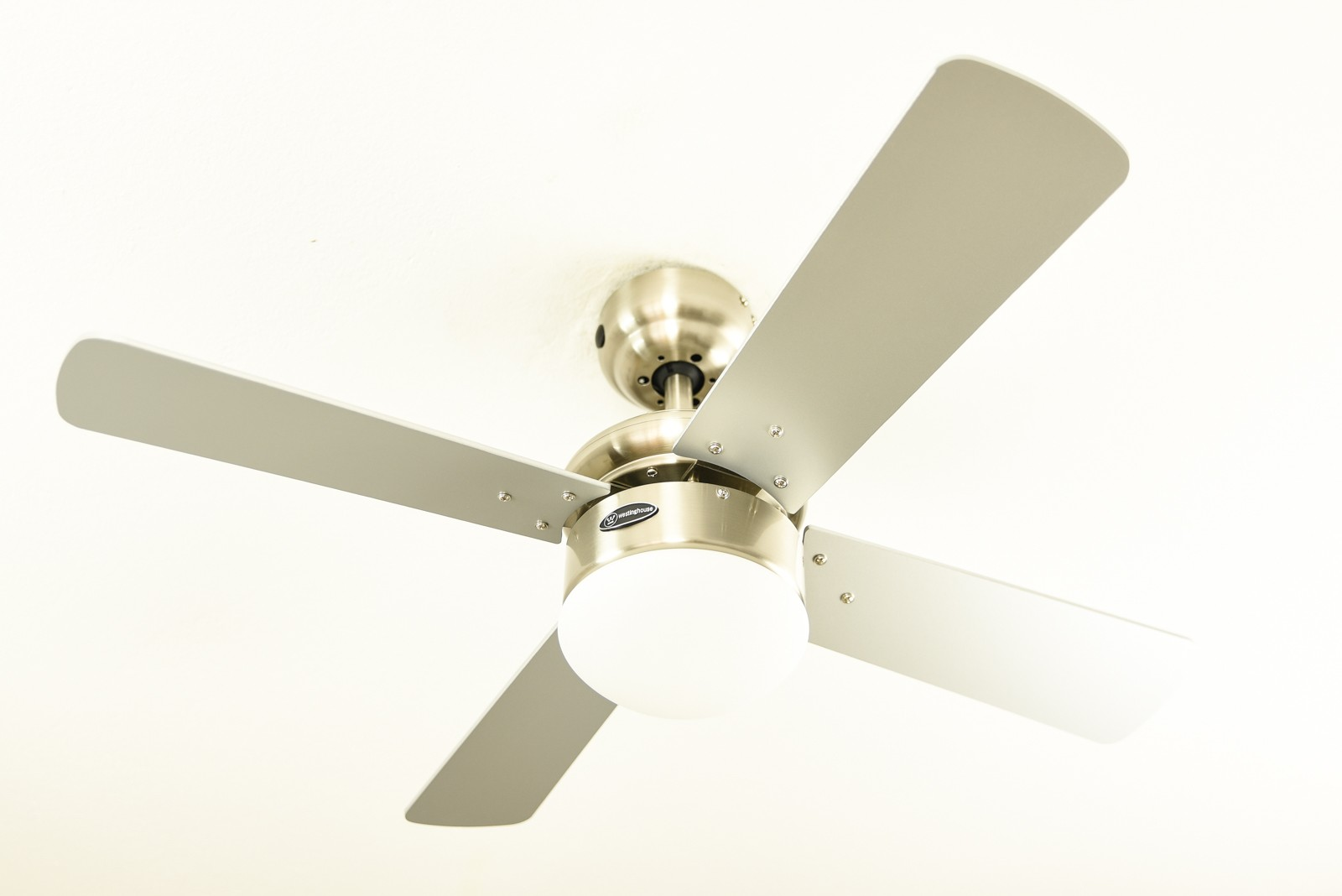 Westinghouse Ceiling Fan Colosseum Brushed Nickel Including Dimmable Led Light And Remote Control Bild 5