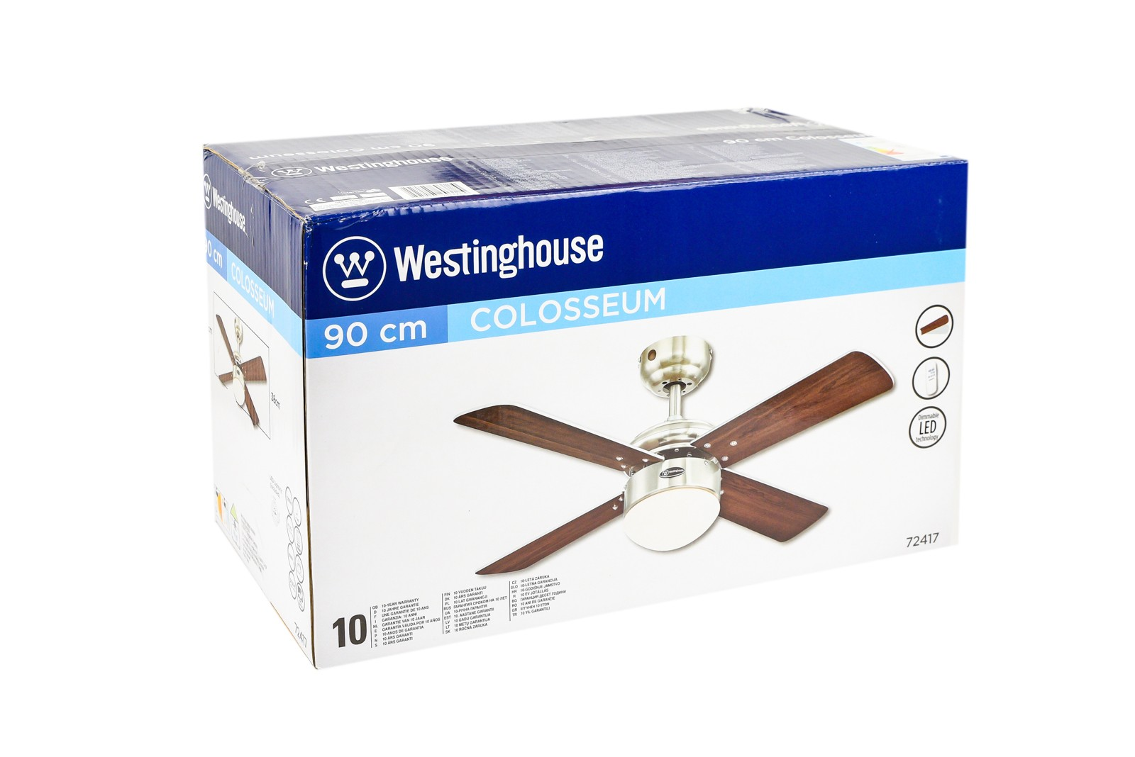 Westinghouse ceiling fan colosseum brushed nickel including dimmable westinghouse ceiling fan colosseum brushed nickel including dimmable led light and remote control bild 10 aloadofball Image collections