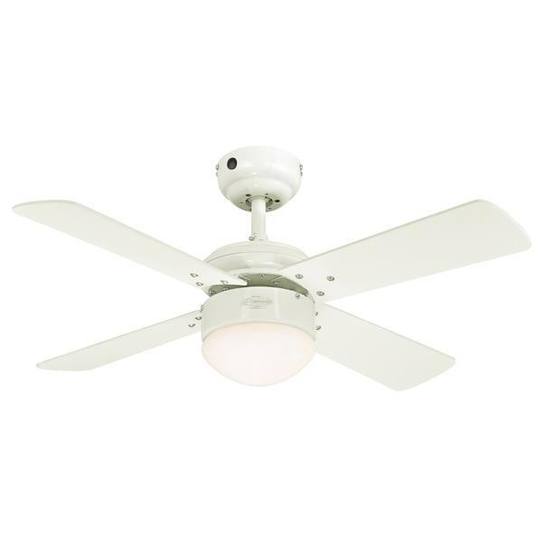 Westinghouse Ceiling Fan Colosseum White Including Dimmable Led Light And Remote Control Bild 2