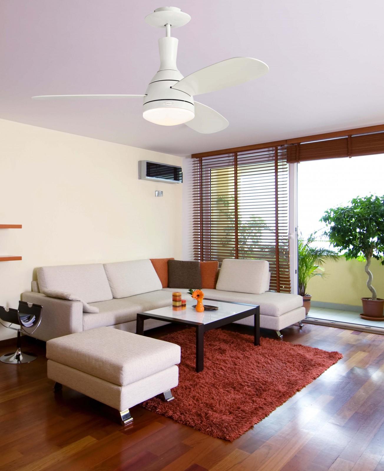 deckenventilator cumulus mit licht und fernbedienung. Black Bedroom Furniture Sets. Home Design Ideas