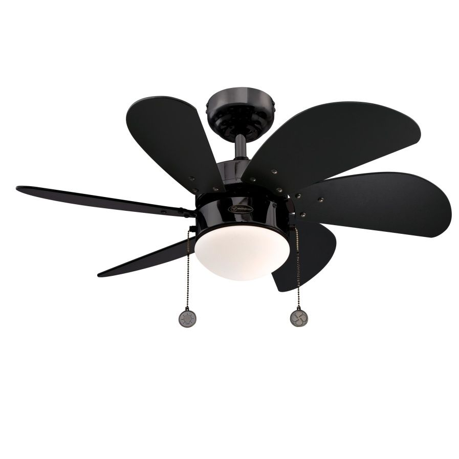 Ceiling Fan Turbo Swirl Gun Metal 76cm 30 Quot With Light