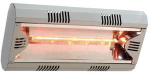 Halogen Infrared Heater Hathor IP20 with wall mount