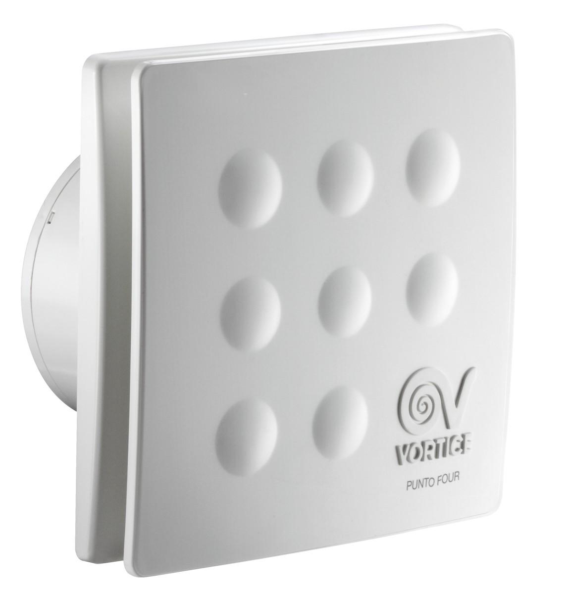 Bathroom Fan Small Room Punto Four Mfo 120 175m³ H