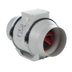 Rohrventilator LINEO 200 bis zu 1080 m³/h IPX4