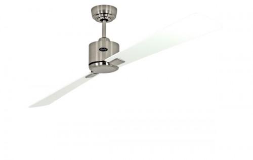 ventilateur de plafond basse consommation eco neo ii 180 cm chrome bross p les blanches gris. Black Bedroom Furniture Sets. Home Design Ideas