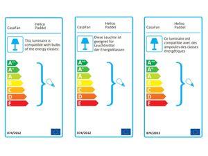 Deckenventilator Helico Paddel WE-NB mit Fernbedienung – Bild 2