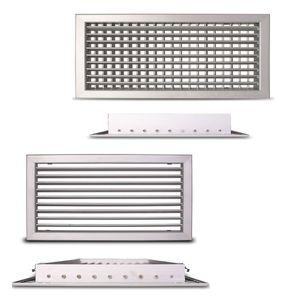 Adjustable ventilation grille CasaFan ALG-D and ALG-O