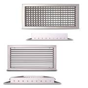 Adjustable ventilation grille CasaFan ALG-D and ALG-O