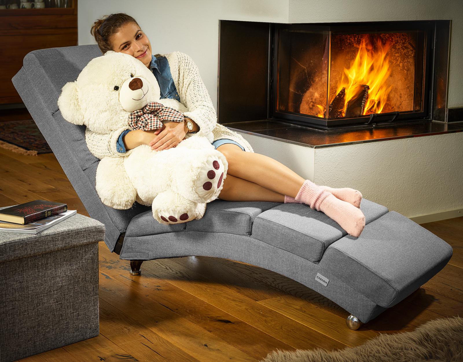 Grand nounours Ours en peluche géant Ourson XL 100 cm Teddy bear Blanc - Jouet et jeux