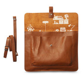Laptoptasche Head Office (cognac)