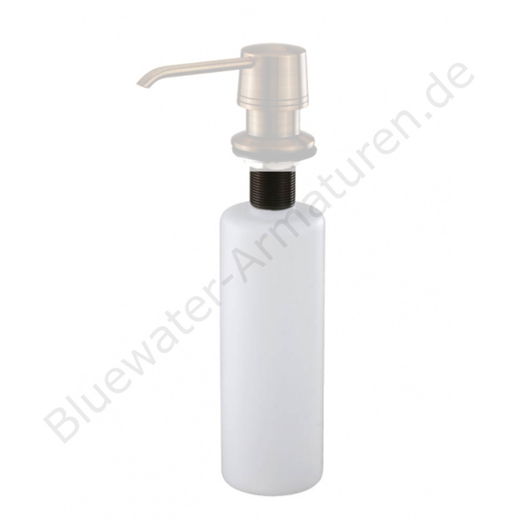 Ersatz-Behälter für Bluewater Messing Seifenspender Küche Alt Gold