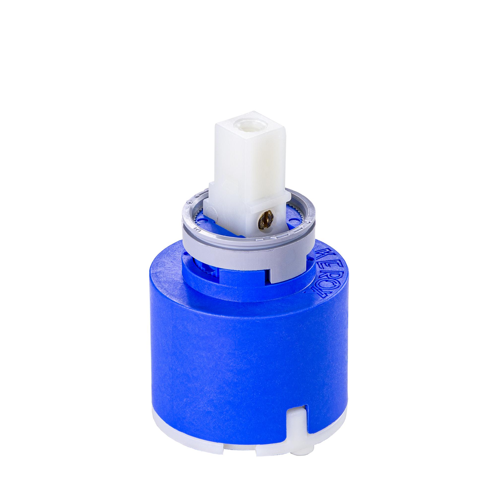 Kartusche 35 mm HD blau Keramik für Franke Wasserhahn Küchenarmatur Hochdruck ersetzt 133.0372.710