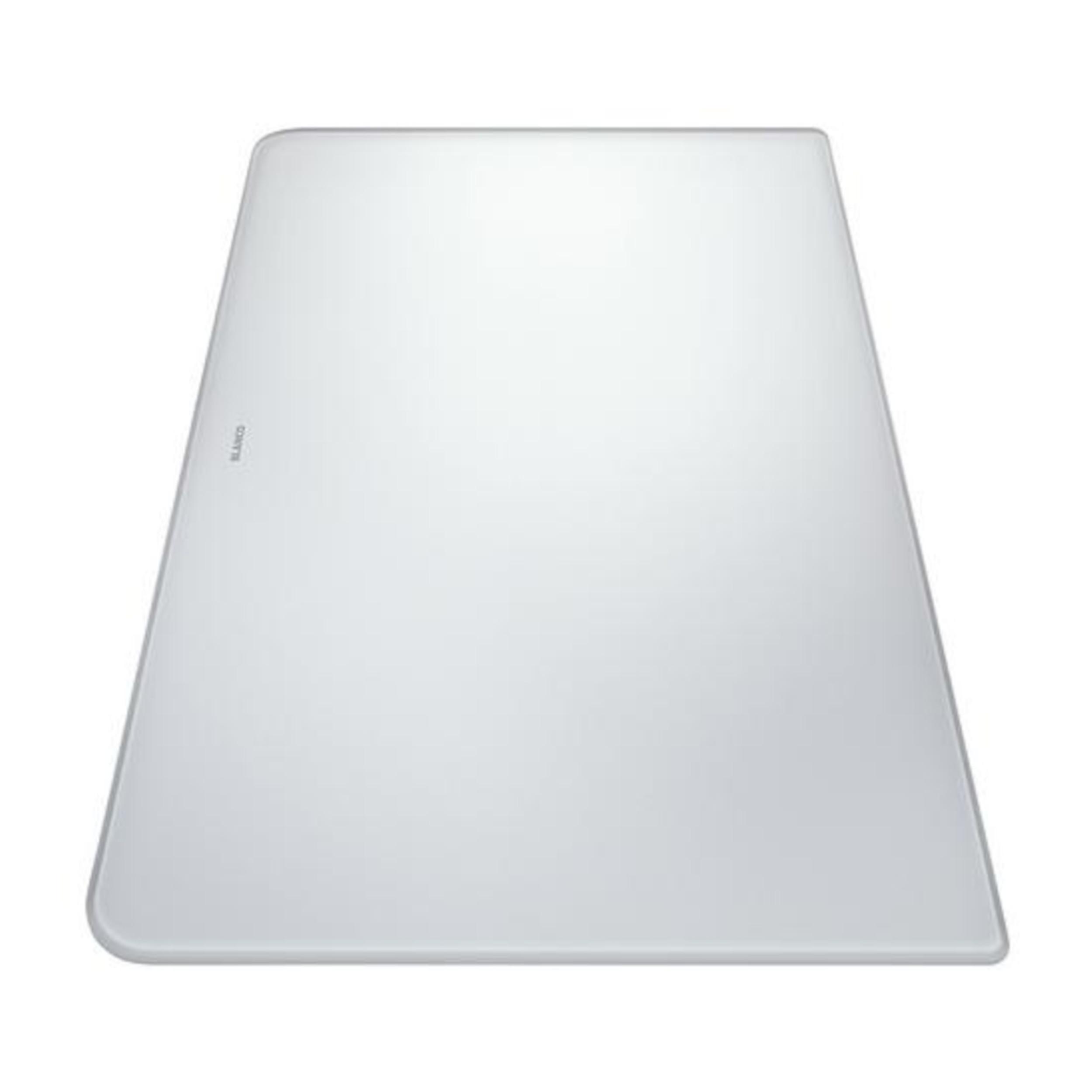 BLANCO Schneidbrett aus satiniertem Sicherheitsglas ALAROS weiß 500 x 310 mm, 224510