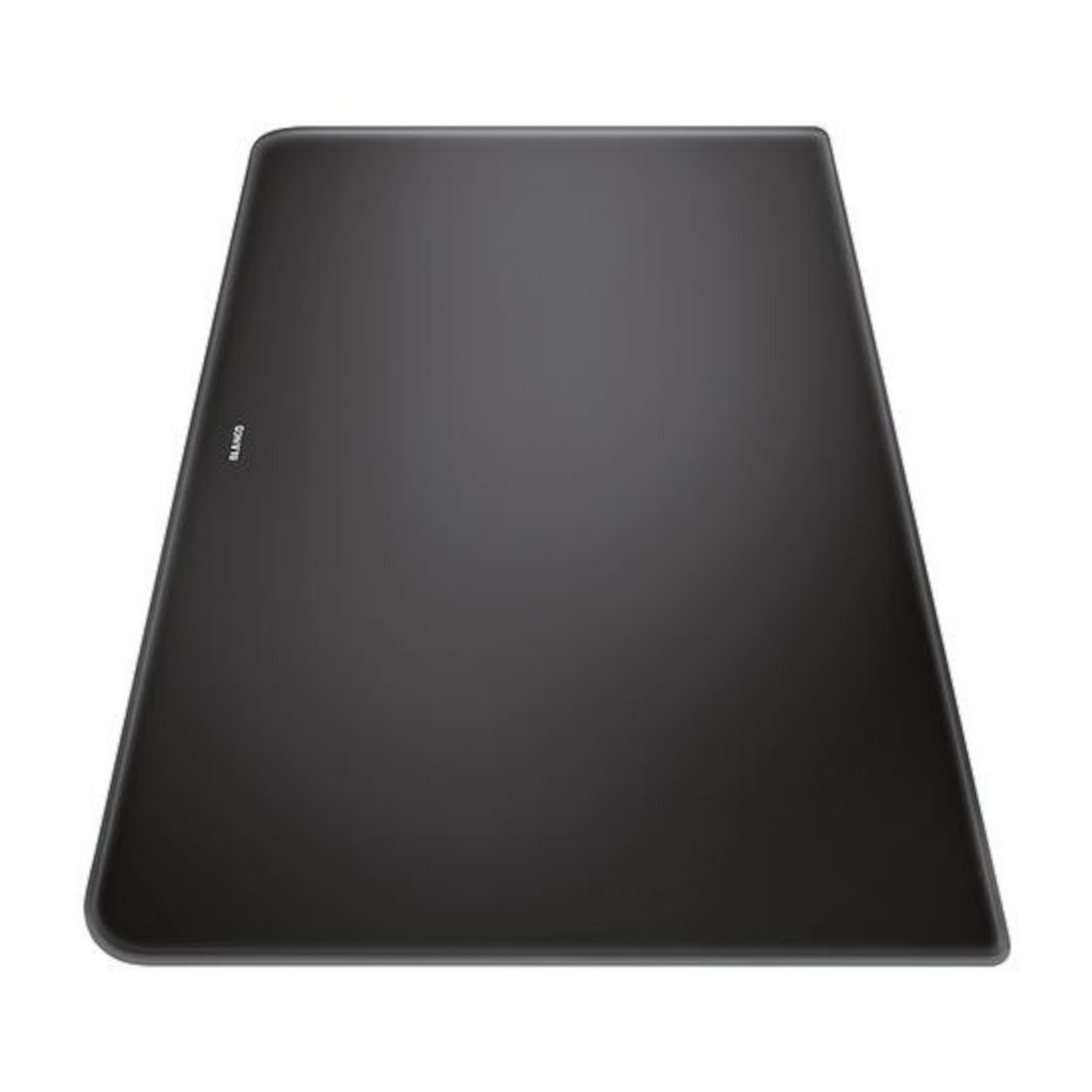 BLANCO Schneidbrett aus satiniertem Sicherheitsglas ALAROS schwarz 500 x 310 mm, 224525