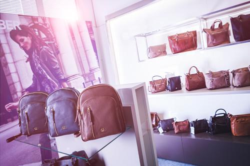 Ladengeschäft Taschenstore