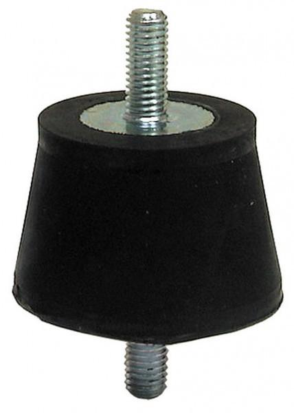 4 Stück Gummipuffer Schwingungsdämpfer Ø29/38 x 22mm M8 Typ A  Gummi-Metall-Puffer