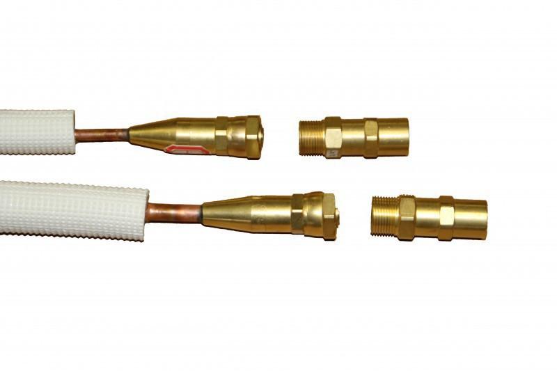 Klimacorner Quick Connect Anschlüsse für Multi Split Klimaanlagen mit 5x Innengeräten ohne Cu-Rohr
