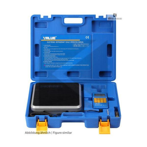 Kältemittelwaage Value VES-100A bis 100 kg, Auflösung 5 g, mit Batterie