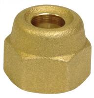 Bördel-Überwurfmutter 6 mm - 10 mm - 12 mm - 16 mm - für metrisches Kupferrohr