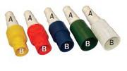 Linum Verbindungsstück CCSR20-B Blau 14-16-18-20 auf 20 mm