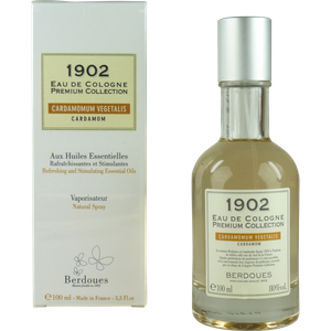 Berdoues 1902 Cardamom Cardamomum Vegetalis 100ml Eau de Cologne Spray