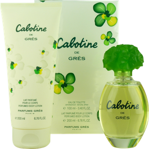 Gres Cabotine de Gres SET 100ml Eau de Toilette Spray + 200ml BL