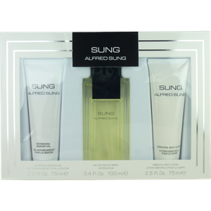 Alfred Sung SUNG SET 100ml Eau de Toilette Spray + 75ml BL + SG