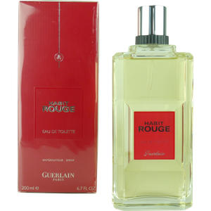 Guerlain Habit Rouge 200ml - 6.7oz Eau de Toilette Spray