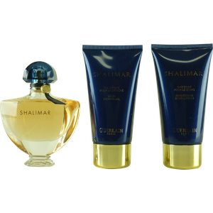 Guerlain Shalimar Set 50ml Eau de Toilette Spray + 75ml BL + 75ml SG – Bild 2