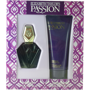 Elizabeth Taylor Passion Set 44ml Eau de Toilette Spray + 200ml Body Lotion – Bild 1