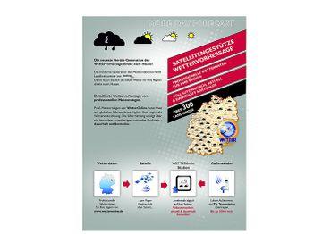 FUNK-PROFI-WETTERSTATION WD 4025 TECHNOLINE FARBDISPLAY UHR INKL. SENDER NETZTEIL – Bild 5