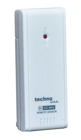 FUNK-WETTERSTATION TECHNOLINE WS 6870 WEISS LED FUNK-UHR THERMOMETER INKL SENDER – Bild 4