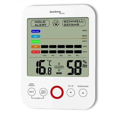 WS 9422 MIN/MAX Temperaturstation Thermometer Hygrometer Schimmelalarm XLDISPLAY