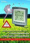 FUNK-WETTERSTATION WD 9565 TECHNOLINE POLLENFLUG-VORHERSAGE INKL. SENDER MIN/MAX 001