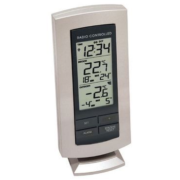 FUNK-TEMPERATURSTATION THERMOMETER TECHNOLINE WS 9140 IT FUNK-UHR INKL. SENDER  – Bild 1